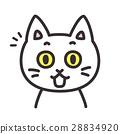 고양이 캐릭터 표정 통지 28834920