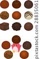 초코, 트뤼플, 초콜릿 28835061