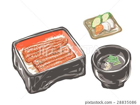 鳝鱼 喷鼻蒲烧烤 烤鳗 28835086