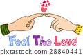 hand, digit, gesture 28840441