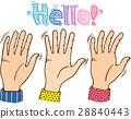 手 手指 数字 28840443