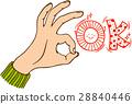 手 身体部位 手势 28840446