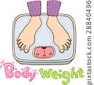 身体部位 手势 控制体重 28840496