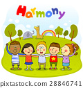 harmony, friendly, colleagues 28846741