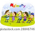 harmony, friendly, colleagues 28846746