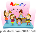 harmony, friendly, colleagues 28846748