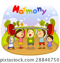 harmony, friendly, colleagues 28846750