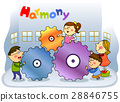 harmony, friendly, colleagues 28846755
