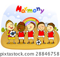 harmony, friendly, colleagues 28846758
