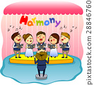 harmony, friendly, colleagues 28846760