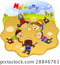 harmony, friendly, colleagues 28846763