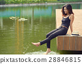 Resting by lake 28846815