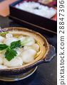 Shimabara Guzoni - soup with rice cake and seafood 28847396