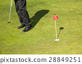 Man playing golf 28849251