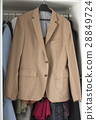 wonderful brown jacket on wardrobe 28849724