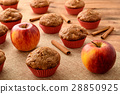 apple cinnamon cupcake 28850925