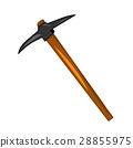 pick axe isolated illustration 28855975