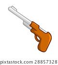 gun isolated illustration 28857328