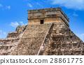 Kukulkan pyramid in Chichen Itza, Mexico 28861775