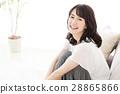 成熟的女人 一個年輕成年女性 女生 28865866