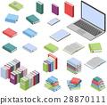 book, set, vector 28870111