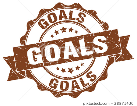 goals stamp. sign. seal 28871430