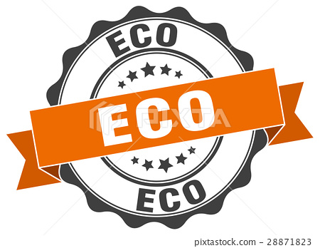 eco stamp. sign. seal 28871823
