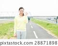 運動服的女性 28871898