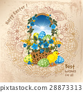 Easter greeting design 28873313