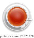 White tea cup 28873320