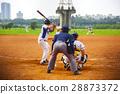 야구, 피치, 경기, 야구, 경기장, 게임, 야구, 28873372