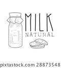 cookies, milk, organic 28873548