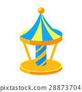 Blue And Yello Merry-Go-Round, Fairy Tale Candy 28873704