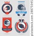 Football emblems 28875045