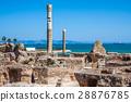 Ancient ruins at Carthage, Tunisia  28876785