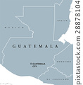 Guatemala political map 28878104