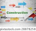 arrow, construction, building 28878258