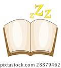 bedtime, story, icon 28879462