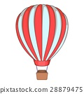Balloon icon, cartoon style 28879475