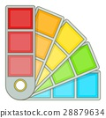 Color palette guide icon, cartoon style 28879634