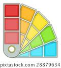 palette, color, vector 28879634