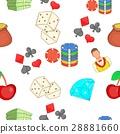 casino, pattern, cartoon 28881660