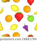 orchard, fruits, pattern 28881784