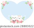 Wedding Card, wedding, bear 28883022