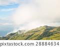 Mist-covered peaks 28884634