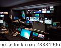 TV Broadcast news studio 28884906