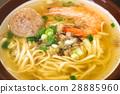 海鮮 湯 麵條 28885960