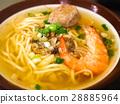海鲜 汤 面条 28885964
