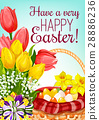 easter egg flower 28886236