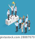 Business human winner. 28887670
